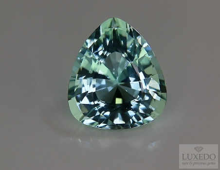 Aquamarine, drop cut, 12.11 ct
