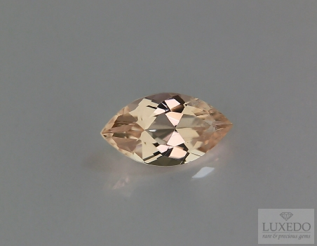 Morganite, marquise cut, 2.34 ct