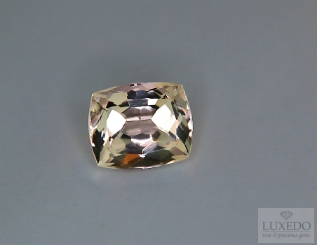 Morganite taglio a cuscino, 3.51 ct