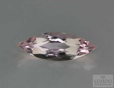 Morganite, marquise cut, 4.56 ct