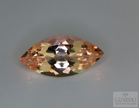 Morganite, marquise cut, 5.14 ct