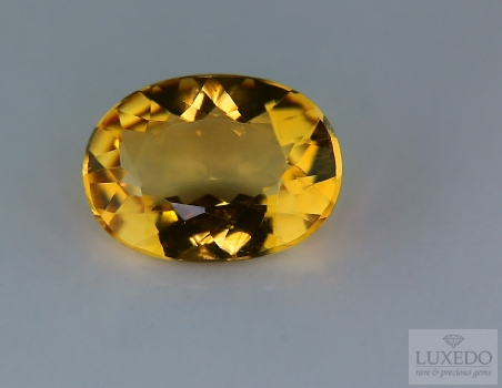 Citrine Quartz, oval cut, 7.41 ct