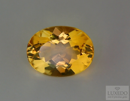 Citrine Quartz, oval cut, 8.58 ct