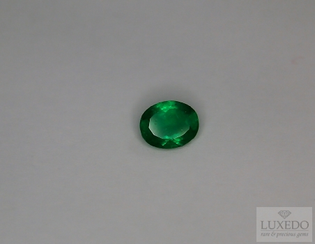 Emerald, oval cut, 0.48 ct