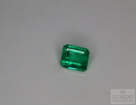 Colombian emerald, octagonal cut, 1.49 ct