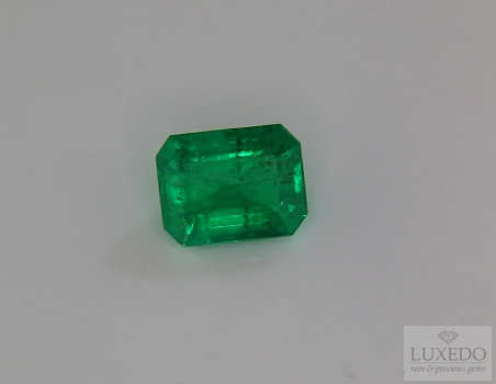Emerald, octagonal cut, 2.52 ct