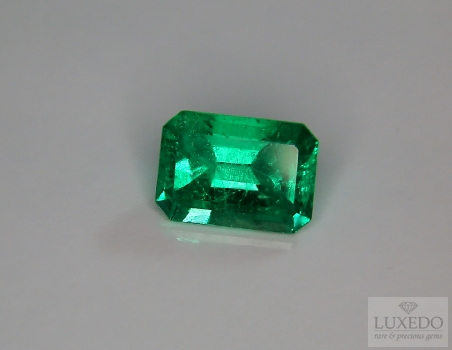 Colombian Emerald, octagonal cut, 3.83 ct