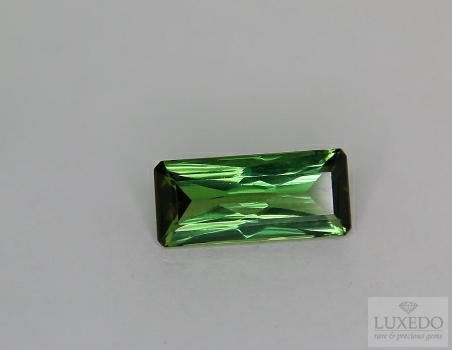 Green tourmaline octagon cut 3.83 ct