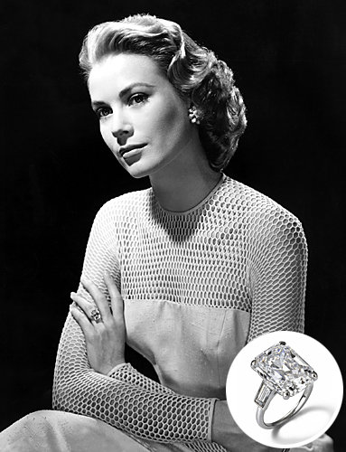 Grace Kelly Diamond engagement Ring