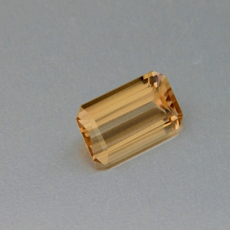 Gold tourmaline, octagonal cut, 3.32 ct