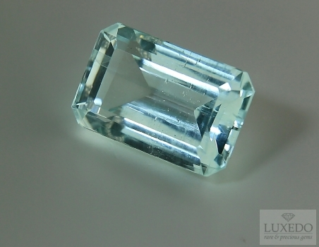 Aquamarine, octagonal cut, 26.57 ct