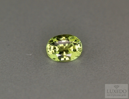 Chrysoberyl, oval cut, 2.17 ct