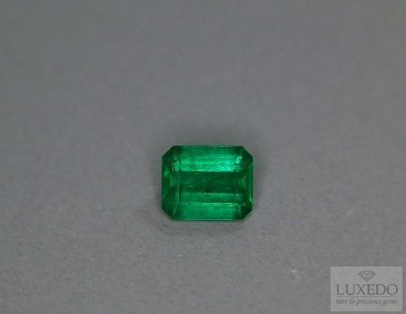 Colombian emerald, octagonal cut, 1.07 ct