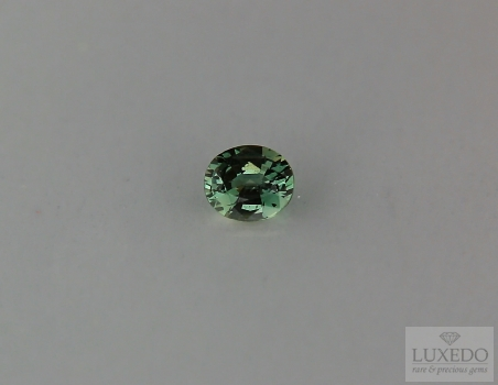Alexandrite, oval cut, 0.40 ct
