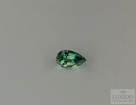 Alexandrite, drop cut, 0.43 ct