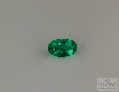 Emerald, oval cut, 0.53 ct