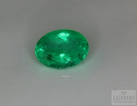 Emerald, oval cut, 2.95 ct