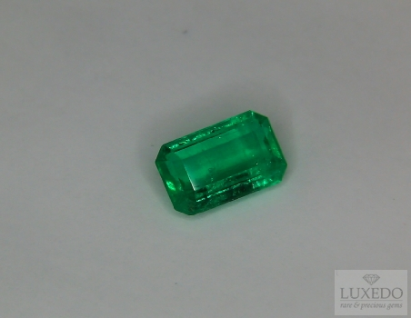 Colombian Emerald, octagon cut, 1.93 ct
