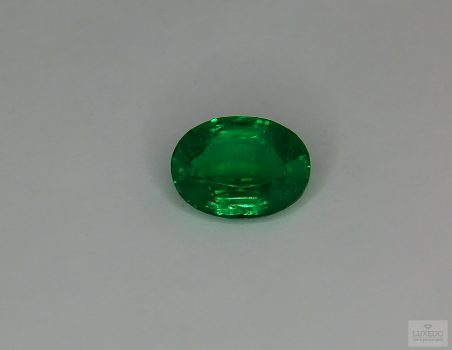 Emerald, oval cut, 2.21 ct