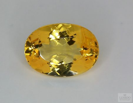 Citrine Quartz, oval cut, 11.92 ct