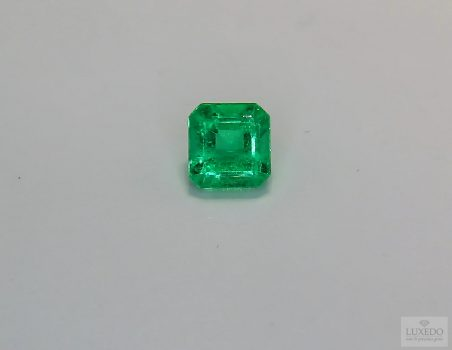 Colombian Emerald, octagon cut, 1.16 ct