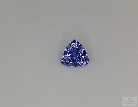 Tanzanite, trillion cut, 0.86 ct