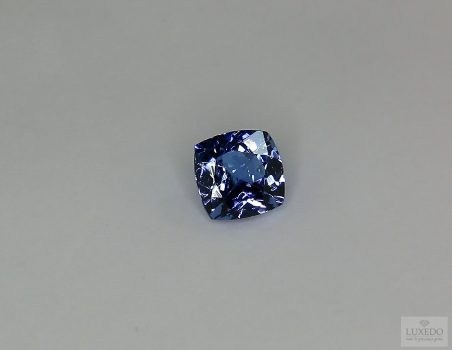 Tanzanite, cushion cut, 1.12 ct