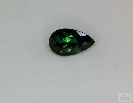 Green Tourmaline, drop cut 1.98 ct