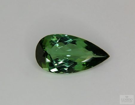 Green Tourmaline, drop cut, 5.21 ct