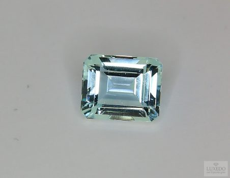 Aquamarine, octagonal cut, 4.16 ct