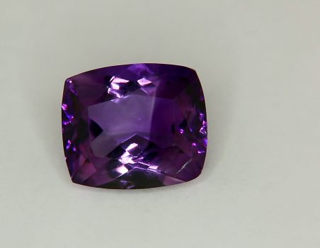 Amethyst, cushion cut, 9.14 ct