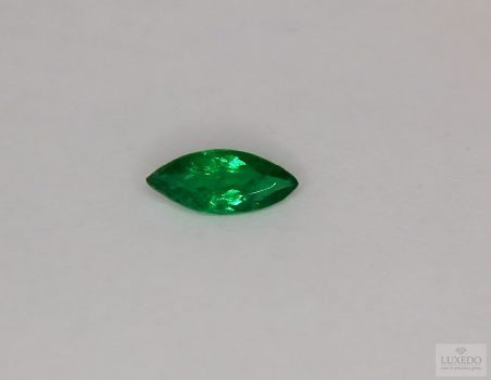 Emerald, marquise cut, 0.67 ct