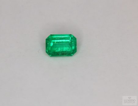 Colombian Emerald, octagon cut, 1.32 ct
