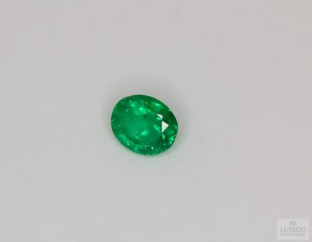 Colombian Emerald, oval cut, 1.00 ct