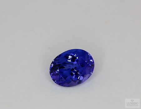 Tanzanite, oval cut, 4.02 ct