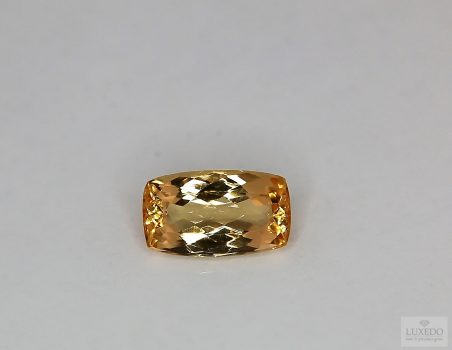 Imperial Topaz, cushion cut, 2.45 ct