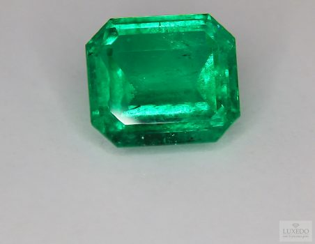 Colombian Emerald, octagonal cut, 15.14 ct (IGI)