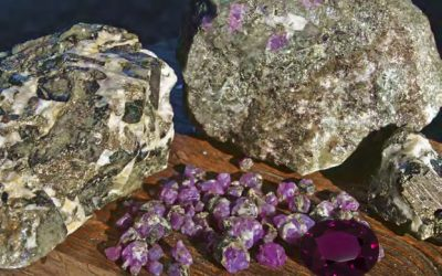 New discovery: the rare purple garnets of Mozambique