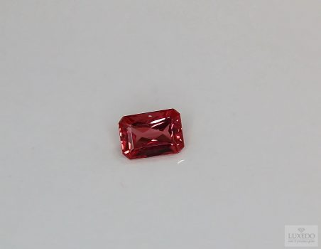 Red Spinel, octagonal cut, 0.88 ct
