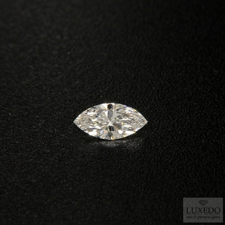 Diamond, Marquise cut F/VS2, 0.52 ct (GIA)