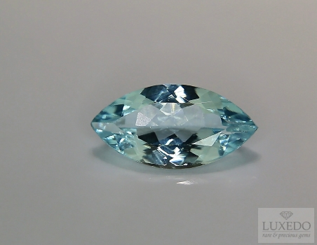 Aquamarine, marquise cut, 2.23 ct