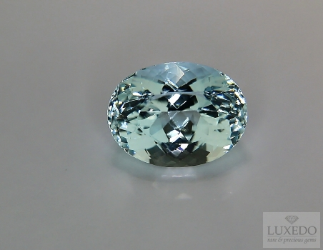 Aquamarine, oval cut, 4.00 ct