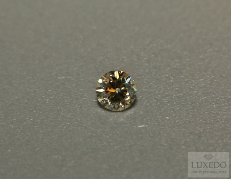 Brown Diamond, brilliant cut, 0.49 ct