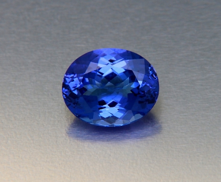 The gorgeous blue of Tanzanite