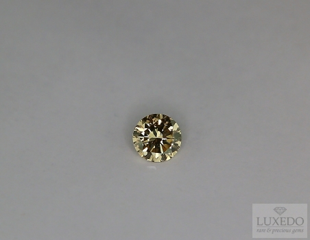 Diamante Brown taglio brillante, 0.49 ct