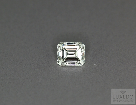 Diamond, Emerald cut H/VVS2, 1.00 ct (LUXEDO)