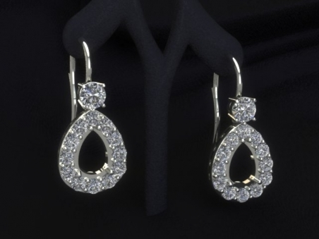 shop earrings models luxedo gems