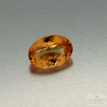 Oval cut Imperial Topaz, 4.72 ct